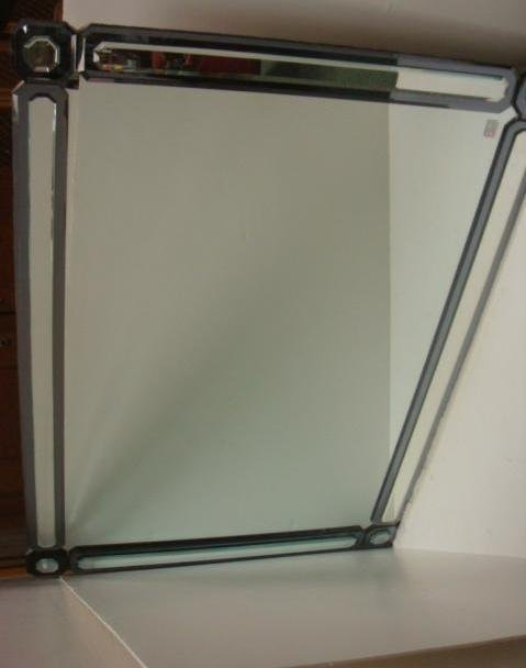 15: Deco Inspired Large Framed Wall Mirror: