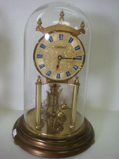 199: 2 WELBY & SCHATZ German Anniversary Clocks: - 2