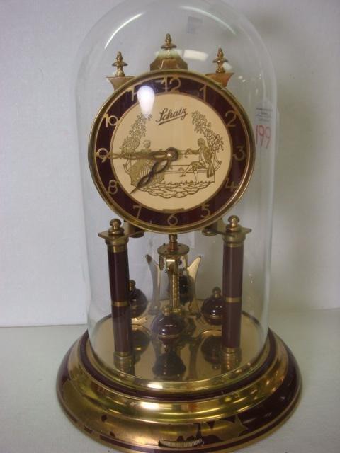 199: 2 WELBY & SCHATZ German Anniversary Clocks: - 3