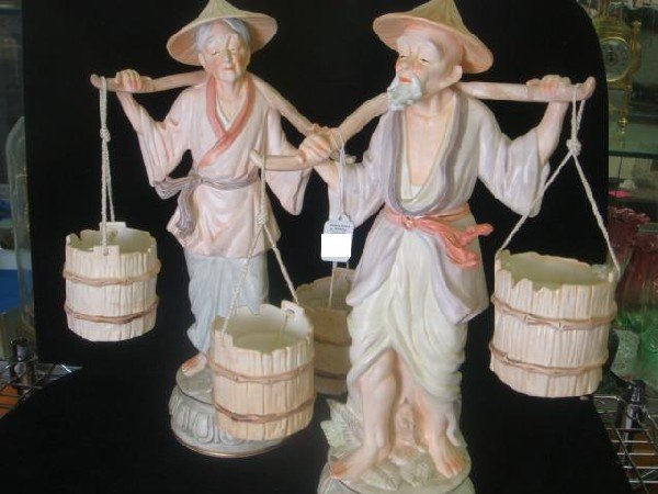 76 2 Ceramic Japanese Water Carriers