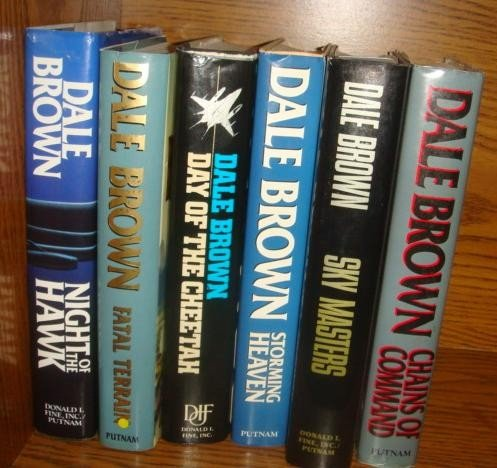 9: 6 DALE BROWN Air Adventure 1st Editions: