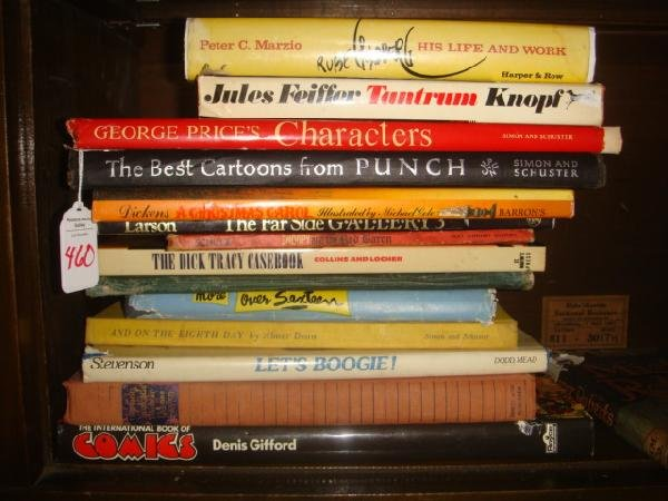 10: 13 Books by Great Cartoonists: