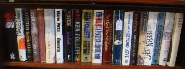 21: 17 1st Editions Mystery Book Shelf