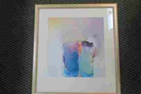 Abstract Oil Painting by ANDERSON GILES: