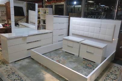 7 Piece ALF Italia Imperia Collection Bedroom Suite: