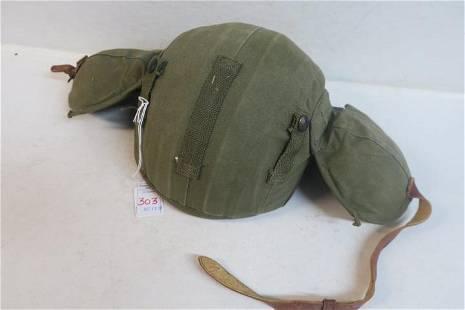 Rare WWII US ARMY Air Force Aircrew M4A2 Flak Helmet: