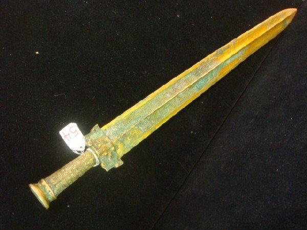 54: Bronze Chinese Jian Double Edged Sword