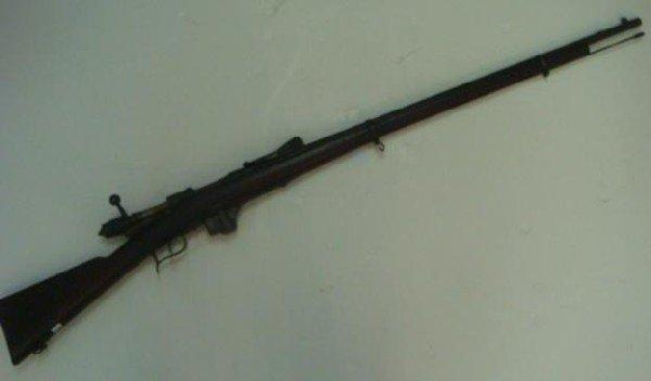 "72: TORINO 1890 ""VETTERI"" Bolt Action Rifle:"