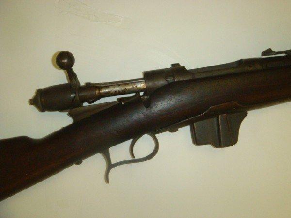 "72: TORINO 1890 ""VETTERI"" Bolt Action Rifle: - 2"