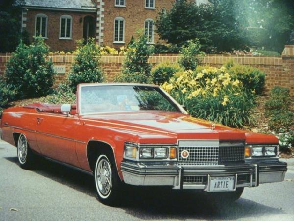 100A: 1979 CADILLAC LeCABRIOLET Convertible Conversion: