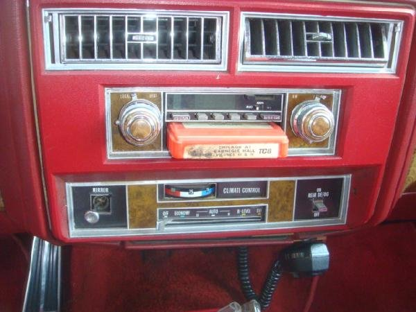 100A: 1979 CADILLAC LeCABRIOLET Convertible Conversion: - 5