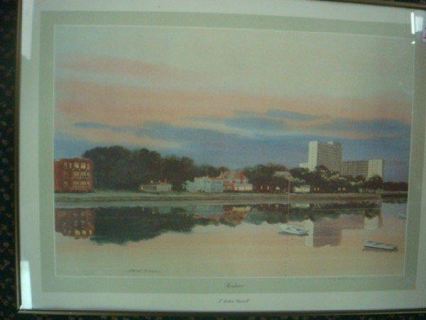 104: Pencil Signed Artist Proof J ROBERT BURNELL Print: