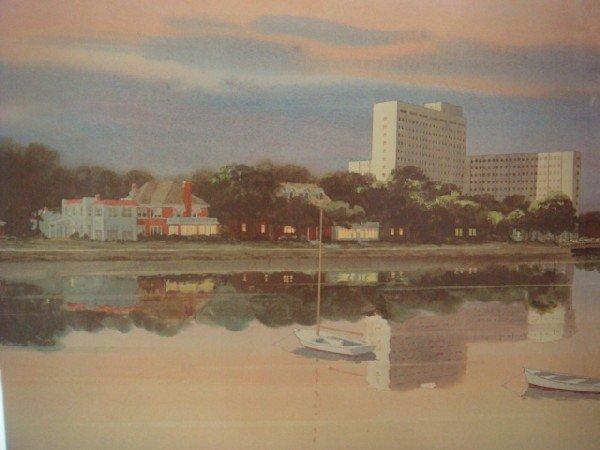 104: Pencil Signed Artist Proof J ROBERT BURNELL Print: - 2
