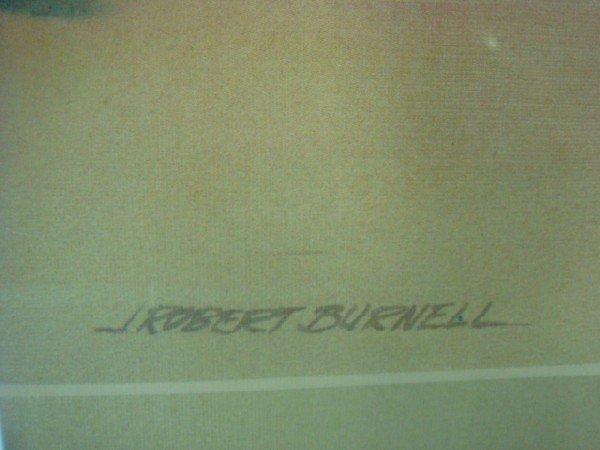 104: Pencil Signed Artist Proof J ROBERT BURNELL Print: - 3