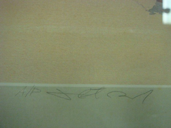 104: Pencil Signed Artist Proof J ROBERT BURNELL Print: - 4