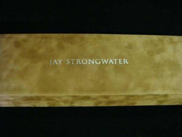 250A: Signed JAY STRONGWATER for Neiman Marcus Cake Kni - 3