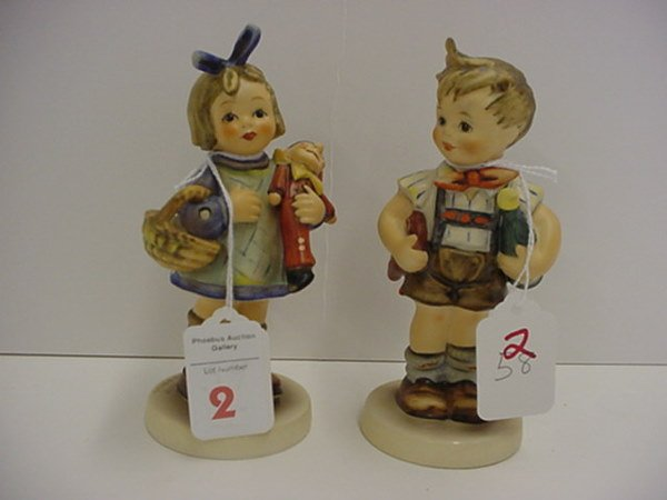 2: Hummel Valentine Joy and What Now Club Figures: