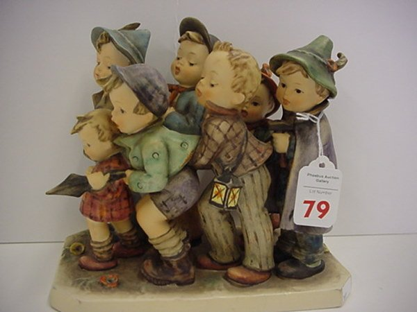 79: Hummel Adventure Bound Large Figurine: