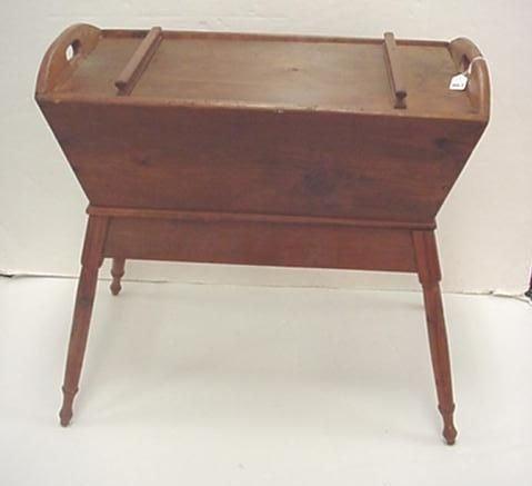 967: Pine Kitchen Dough Box: