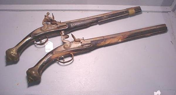 1198: Pair of 18th Cent. Dueling: