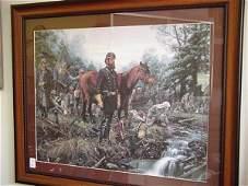 1201: JOHN PAUL STRAIN, Destination Manassas, Art Print