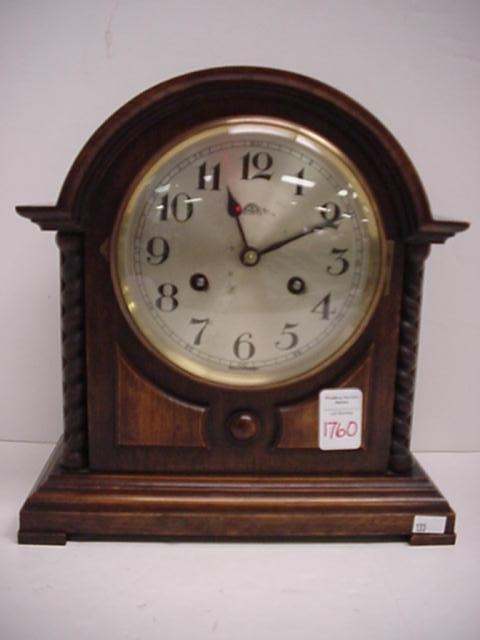 1760: Haller Oak Parlor Shelf Clock: