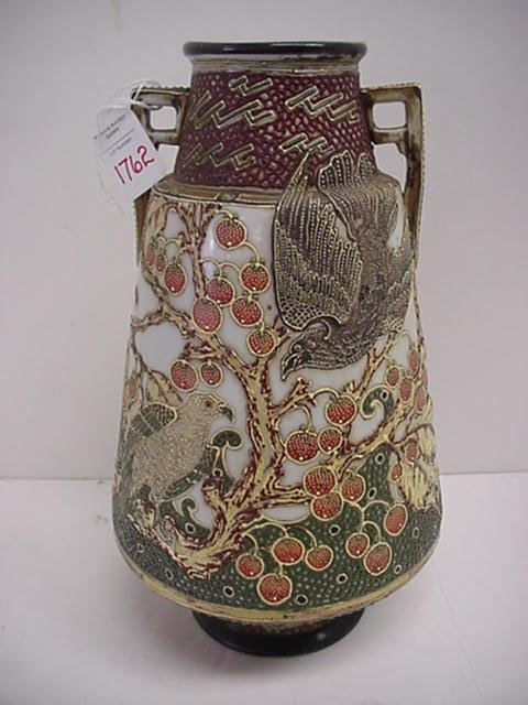 1762: Oriental Porcelain Moriagi Vase: