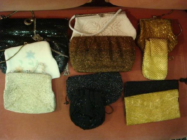 4: Ten Vintage Ladies Beaded Handbags: