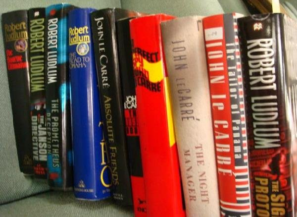 7: Ten First Edition J LeCARRE and R LUDLUM Books: