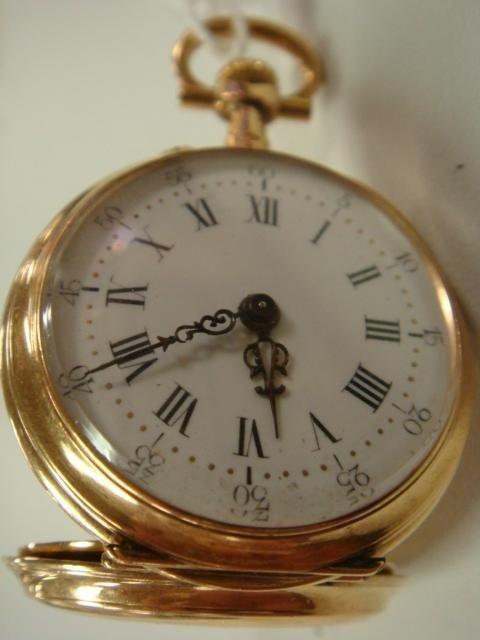 26: LE COULTRE Ladies Pocket Watch:
