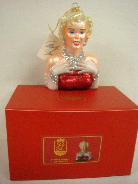 179: POLONAISE Collection Marilyn Monroe Ornament: