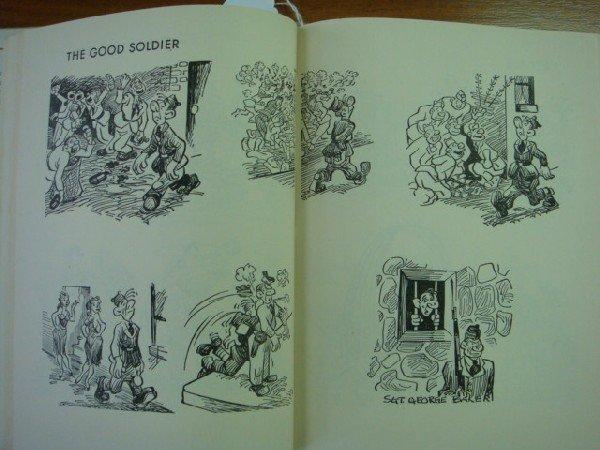 231: GEORGE BAKER 2 Sad Sack Cartoon Books: - 3
