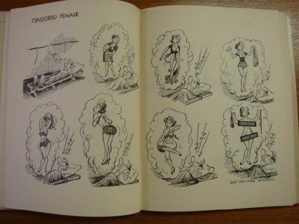 231: GEORGE BAKER 2 Sad Sack Cartoon Books: - 4