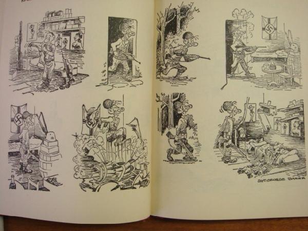 231: GEORGE BAKER 2 Sad Sack Cartoon Books: - 5