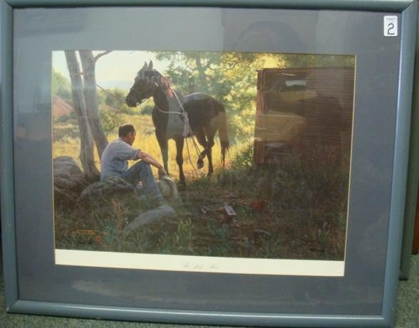 2: Limited Edition A T COX Horse Print: