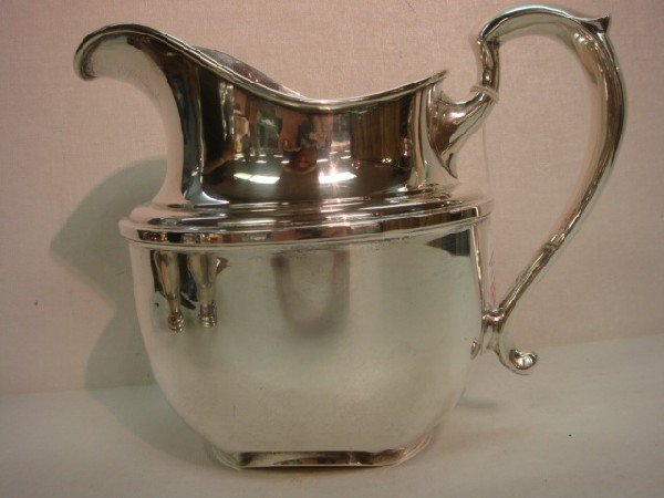 238: Sterling Silver Water Pitcher:
