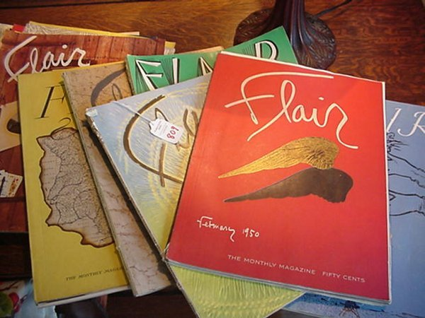 809: Collection of 12 Flair Magazines: Publis