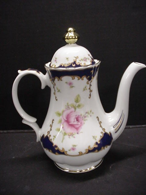 1127: Bavarian Wunsiedel Porcelain Tea Set: R - 2