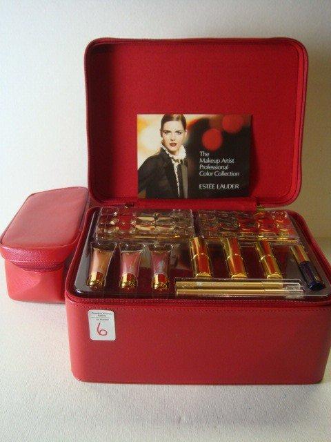 6: ESTEE LAUDER Make Up Box Color Collection: