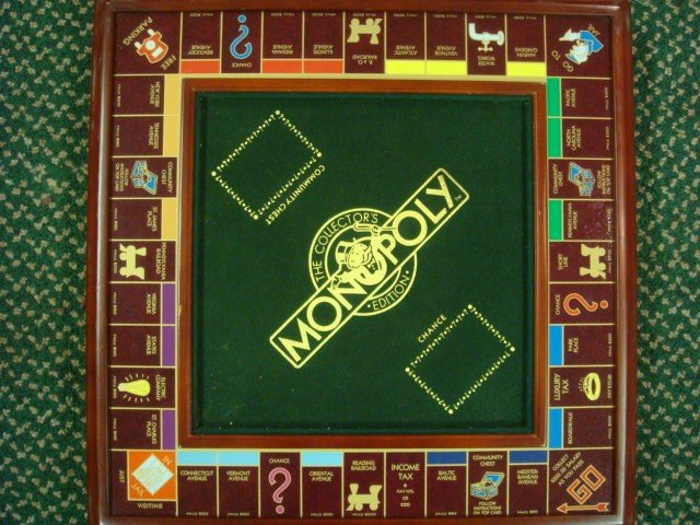 17: Collectors Edition FRANKLIN MINT Monopoly Game: