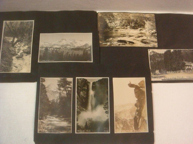 502: 11 BW Post Cards of Yosemite & Western Sites CA 19