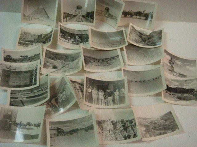 506: 24 Snapshots of WW II Middle East, Ethiopia & Indi
