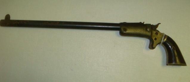 522: STEVENS, NEW MODEL POCKET RIFLE, 22 CAL., 2nd Issu