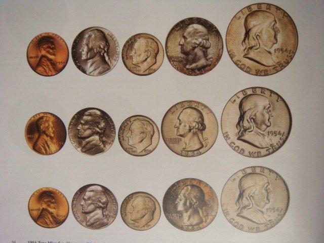 605: Important 1954 PCGS Registry Mint Set: