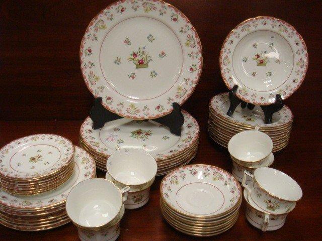& 26: Set of WEDGWOOD Bianca Dinnerware: