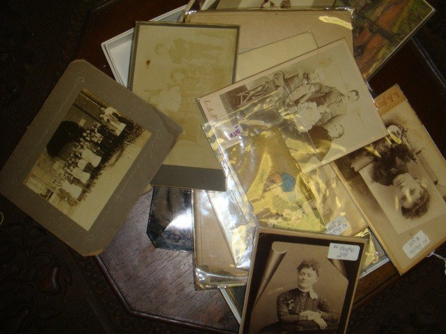18: Collection of Early Photographs and Tintypes, etc.: