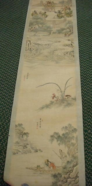 20: Handpainted Chinese Scroll: