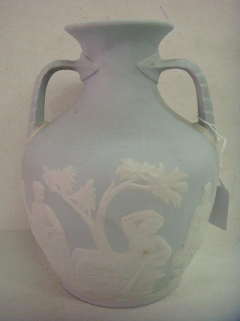 22: Portland Vase Reproduced by Buffalo Pottery: