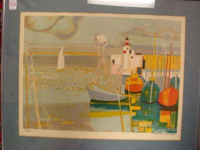 204: Signed GEORGES LAMBERT Limited Edition Lithograph: