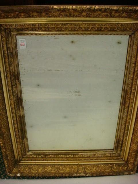 3: Museum Quality Gold Leaf Frame with Mirror: